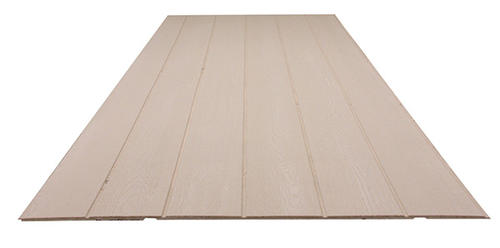 Roseburg Duratemp 1 2 X 4 X 8 Primed Plywood Siding 8 Oc At Menards