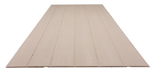 Roseburg Duratemp 1 2 X 4 X 8 Primed Plywood Siding 8 Oc At Menards