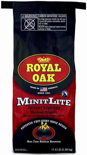 Royal Oak 11 6 Lb Minit Lite Instant Light Charcoal At