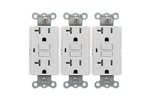 Smart Electrician® 20-Amp Tamper Resistant Self-Test GFCI Outlet 3