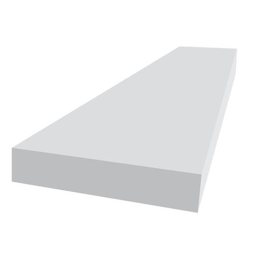 Royal Building Products 1 x 12' White PVC Trim Board at ...