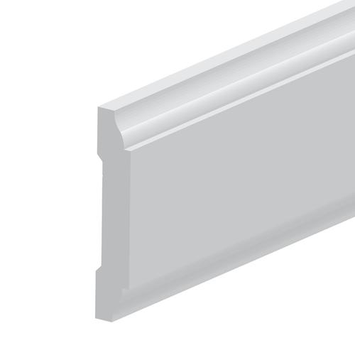 Royal® Building Products 3/8 X 2 X 8' White PVC Panel