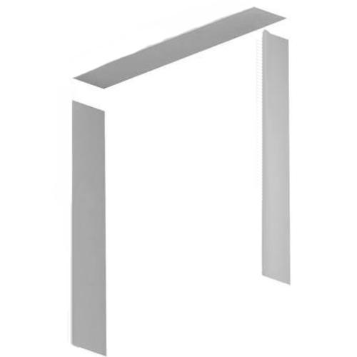 Royal Building Products 1 4 X 9 16 White Pvc 3 Piece Door Frame Kit At Menards