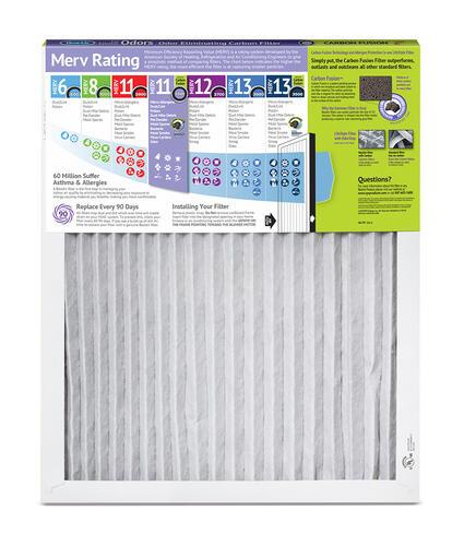 15 x 20 x 1 Pleated Furnace Air Filter MERV 8