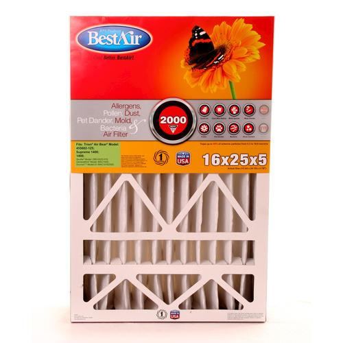 bestair® pleated replacement air filter merv 11 at menards®