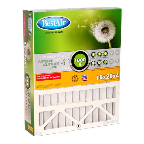 bestair® pleated replacement air filter merv 8 at menards®