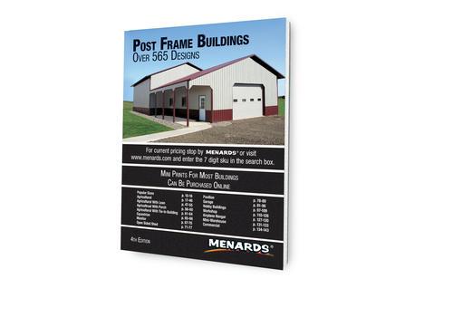Menards Post Frame Design Book at Menards®
