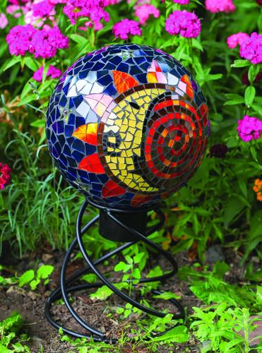 Enchanted Garden Mini Helix Gazing Ball Stand At Menards 174