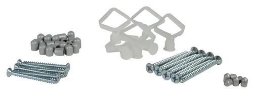 Rubbermaid Fasttrack Satin Nickel Wire Closet Hardware Pack At Menards