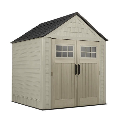 Garden Sheds Menards rubbermaid 7' x 7' outdoor storage shed at menards®