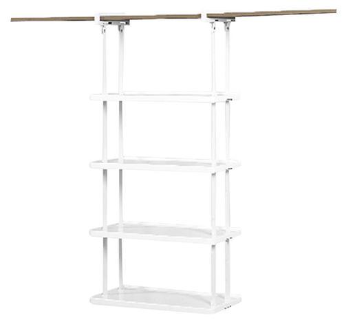Rubbermaid® Closet Helper 4 Shelf Unit At Menards®