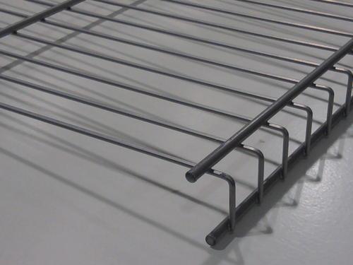 Rubbermaid Fasttrack Garage 48 X 16 Satin Nickel Wire Shelf At Menards
