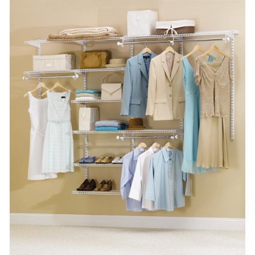 Rubbermaid Configurations 4896 White Deluxe Closet Kit at Menards