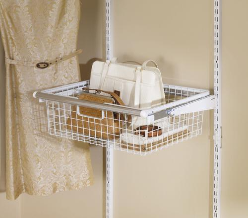 Rubbermaid Configurations 18 W X 17 12 D Sliding Wire Basket At