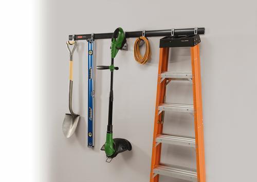 Rubbermaid Fasttrack Garage 32 Wall Mount Storage Kit 8 Piece At Menards