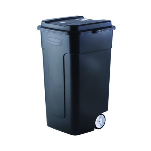 Rubbermaid 174 Roughneck 174 50 Gallon Wheeled Trash Can With