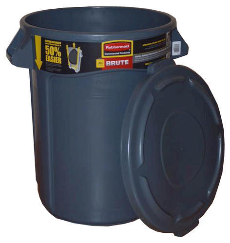 3425ffe5f97 Rubbermaid® Commercial 32 Gallon Brute® Trash Can With Lid. Model Number   8632-20 2632BL Menards ® SKU  6483171