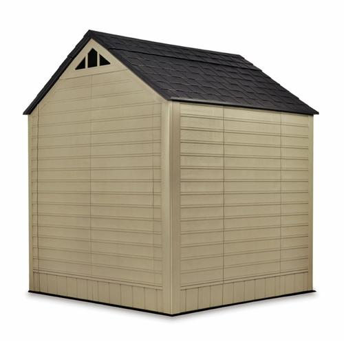 Garden Sheds 7x7 rubbermaid 7' x 7' outdoor storage shed at menards®