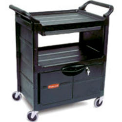 Rubbermaid® Commercial Products Sliding Drawer Utility Cart - 200lb Capacity