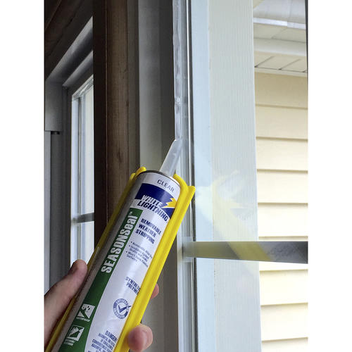 Clear Removable Weather Stripping