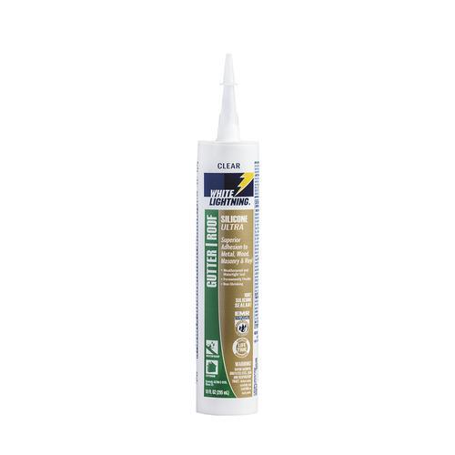 White Lightning® Silicone Ultra Gutter & Flashing Sealant