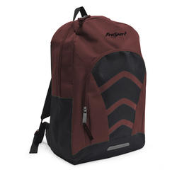 """17/"""" ProSport BackPack RED//BLK for Students Hikers Campers Sports 600D POLYESTER"""
