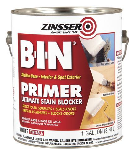 Zinsser B I N Interior Shellac Base Ultimate Stain Blocking Primer At Menards