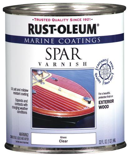 Rust-Oleum® Marine Coatings Clear Gloss Spar Varnish - 1 qt at Menards®