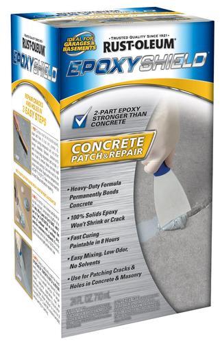 Rust Oleum Epoxyshield Concrete Patch