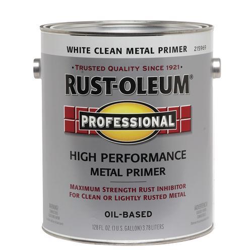 Rust Oleum White Oil Based Clean Metal Primer At Menards
