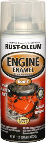 Rust-Oleum® Auto Engine Enamel Spray - 12 oz at Menards®