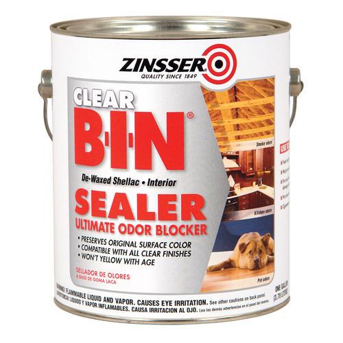 Zinsser B I N Interior Clear Synthetic Shellac Ultimate Odor Blocking Sealer At Menards