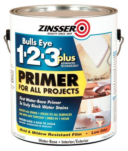 Zinsser Bulls Eye 1 2 3 Plus Interior Exterior All Purpose Primer At Menards