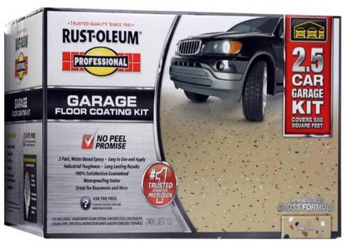 Rust Oleum Professional Interior Gloss Garage Floor Epoxy