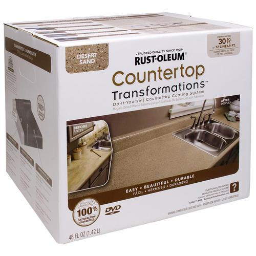Rust Oleum® Countertop Transformations Desert Sand Coating Kit At Menards®