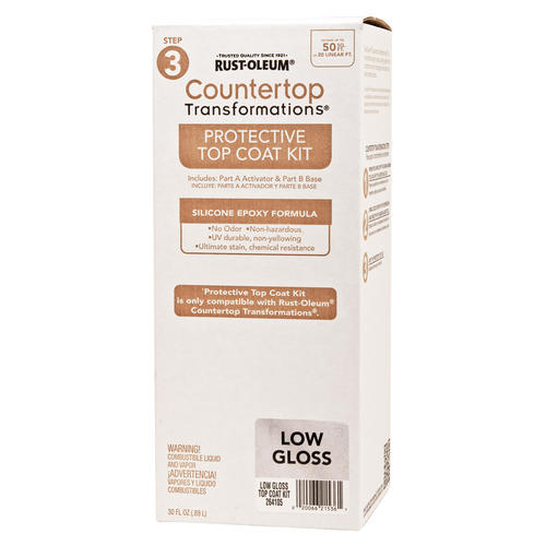 Rust-Oleum® Countertop Transformations Low-Gloss Protective Top ...