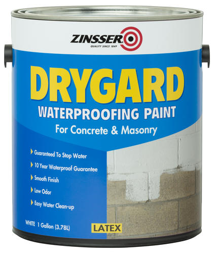 Zinsser Drygard Waterproofing Paint For Concrete And