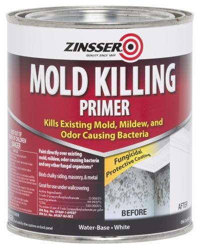 Zinsser Interior Exterior Water Base Mold Killing Primer At Menards