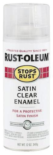 Rust-Oleum® Stops Rust® Clear Protective Enamel Spray Paint
