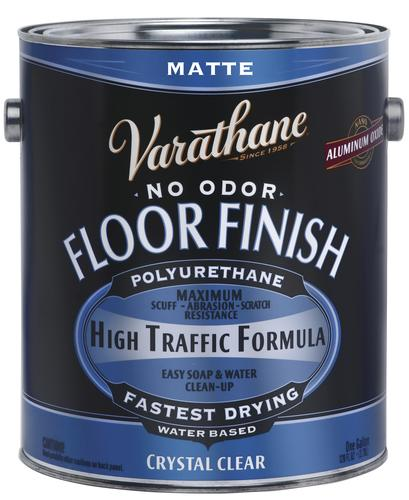 Varathane® Crystal Clear Water-Based Floor Finish - 1 gal