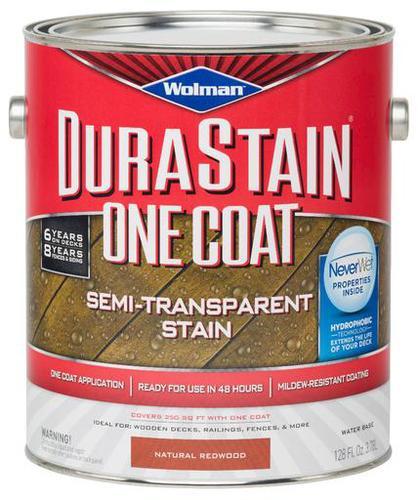 Wolman Durastain One Coat Semi Transparent Stain 1 Gal At Menards