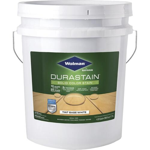 Wolman Durastain One Coat Solid Color Stain 5 Gal At Menards