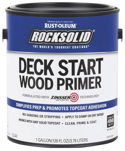Rust-Oleum® Rocksolid® Deck Start Wood Primer - 1 gal at