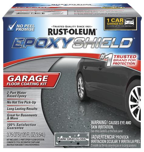Rust-Oleum® EPOXYSHIELD® Garage Floor Coating Kit - 1 Car at