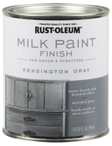 Rust OleumR Milk Paint Finish At MenardsR