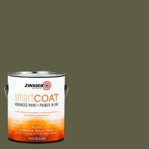 Zinsser Smartcoat Interior Advanced Paint Primer Green Color Family At Menards