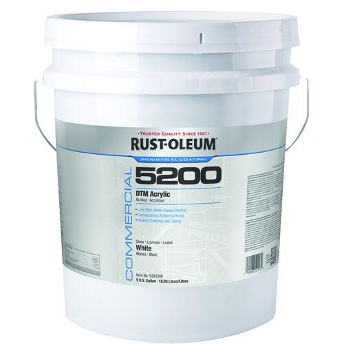 Rust Oleum Industrial Choice 5200 System Dtm Acrylic Enamel