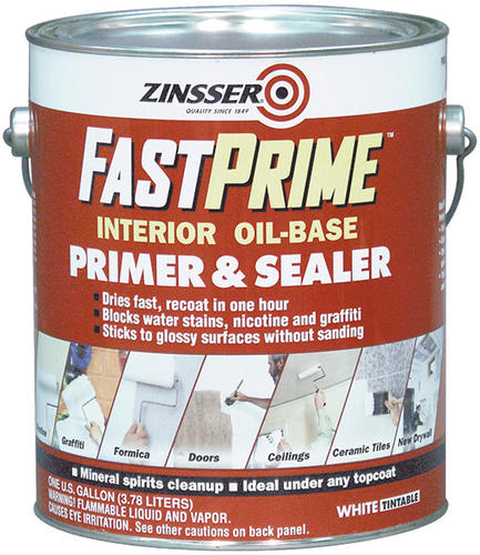 Zinsser Fastprime Interior Oil Base Primer Sealer 1 Gal At Menards