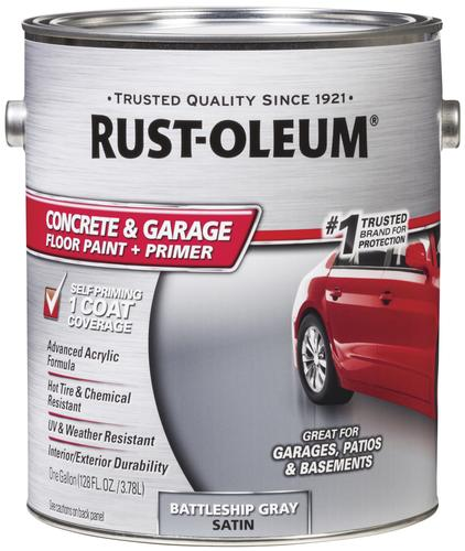 Rust Oleum Concrete Garage Floor