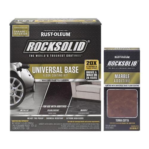 Rust Oleum 174 Rocksolid 174 Polycuramine 174 Marble Floor System